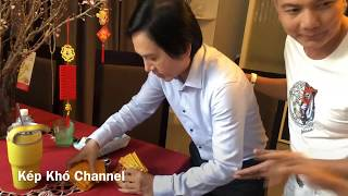 Kim Tử Long lại trổ tài nói tiếng anh mùng 1 tết | Kênh Kép Khó
