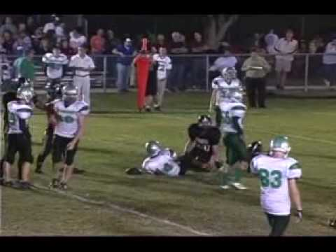 JIBRIL STEWART #14 RB,OLB OCALA CHRISTIAN ACADEMY SOPH HIGHLIGHT.wmv - 02/24/2010