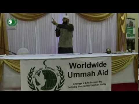 Worldwide Ummah Aid 14th December Event-For Syria, Junaid Jamshed -part 4