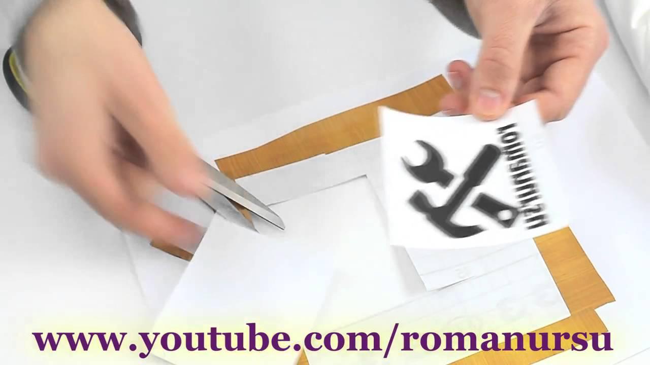 Как нанести логотип рисунок на ткань своими руками 35
