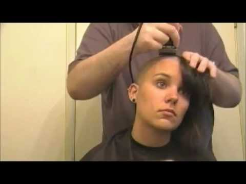 Female Head Shaving Video - A Girl's Head Shave video