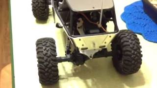 Axial wraith new upgrade all aluminum panels & trailer hitch