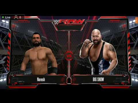WWE 2K Game Live Stream