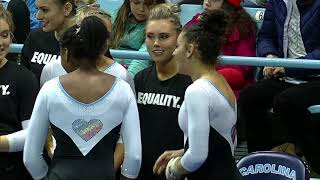 2019.01.25 NC State Wolfpack at North Carolina Tar Heels Gymnastics