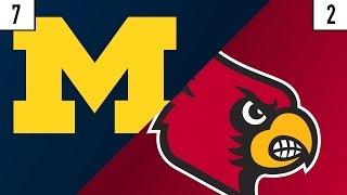 7 Michigan vs. 2 Louisville Prediction | Who