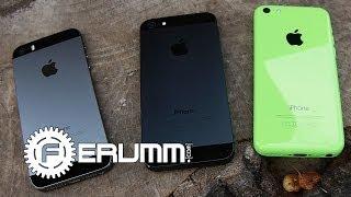 iPhone 5S VS iPhone 5C VS iPhone 5 Сравнение - сильные и слабые места - от FERUMM.COM