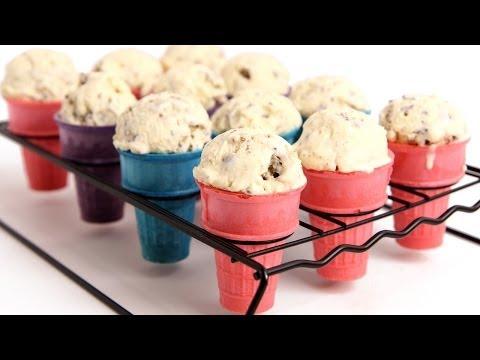 Cookie Dough Ice Cream Recipe - Laura Vitale - Laura in the Kitchen Episode 781