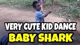 Baby shark Danced by Very cute boy ( wait till the end )
