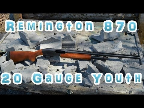 Remington 870 Youth 20 Gauge