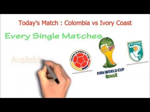 Colombia vs Ivory Coast, FIFA World Cup 2014: Watch Live !