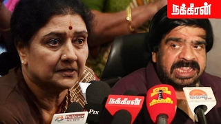 T. Rajendar Funny Comments About Sasikala!