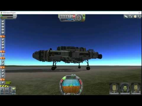 Minmus outpost rover delivery part 1 #3MM Kerbal space programme