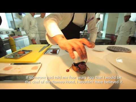 ROMEO Hotel - Naples, Italy   Gourmet Neapolitan cuisine   Sushi   Chef Andrea Aprea