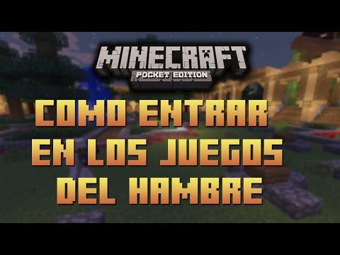 Como entrar a los Juegos del Hambre l Minecraft Pocket Edition  0.9.5