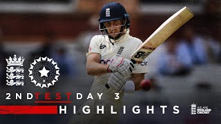 Root With Another Century!   England v India - Day 2 Highlights
