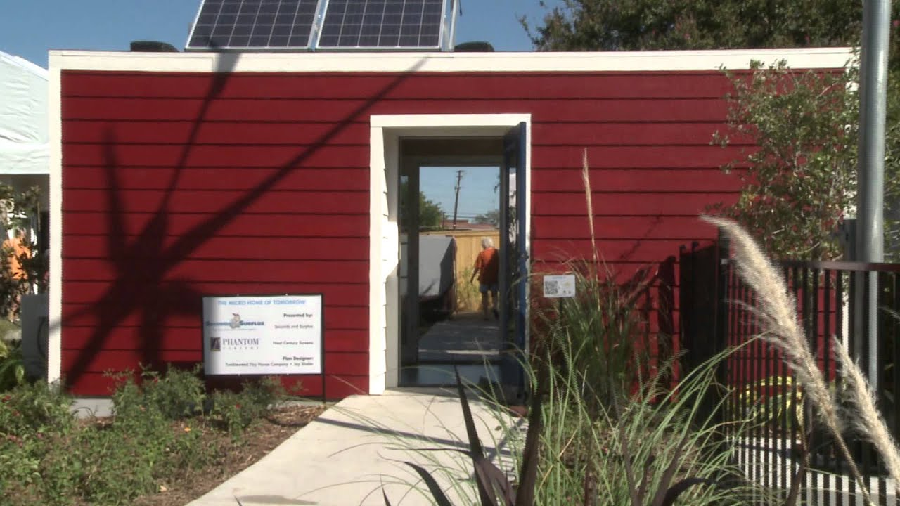 State fair of texas the home of tomorrow micro homes for Tomorrow s home