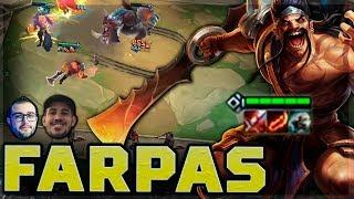 30 FARPAS POR MINUTO NESSA PARTIDA! - feat. LEKO, MAYNAH, PIMPIMENTA | TEAMFIGHT TACTICS