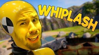 VAD ÄR DET HÄR FÖR SPEL!? | Whiplash Crash Valley