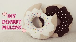 DIY Donut Pillow   Jtru