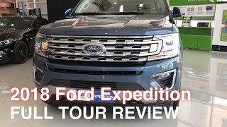 2018 Ford Expedition V6 EcoBoost 10spd AT    FULL TOUR REVIEW