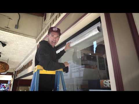 How to Install A Window Wrap