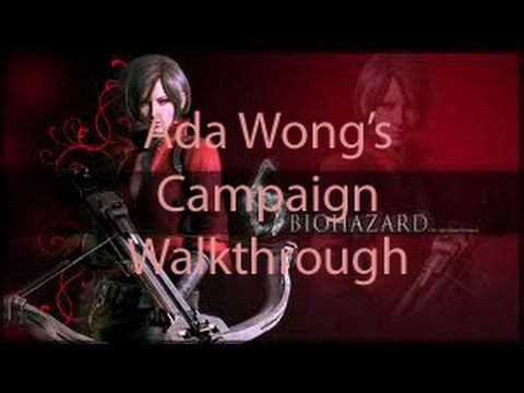 Resident Evil 6 Walkthrough - Ada Wong's Campaign Chapter 2 {HD}