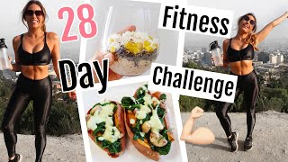 28 DAY FITNESS + HEALTH CHALLENGE //CLEAN VEGAN RECIPES 2018