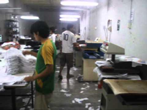 Estampados de laminas transfer para la industria textil peru