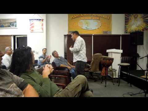 Life in Him Video Blog - Eating fish in Stuart & Ministering in Port. St. Lucie, Nov 24th 2012