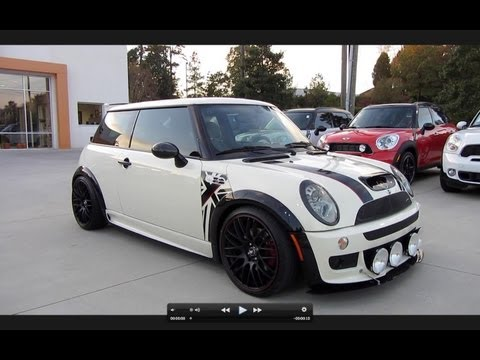2006 Mini Cooper S Custom JCW Start Up, Exhaust, and In Depth Tour