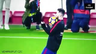 Dribles e Gols do Incomparável Lionel Messi 2018