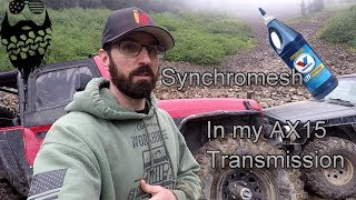 Jeep Wrangler TJ transmission fluid change with Synchromesh AX15