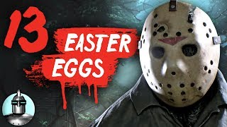 13 Friday The 13th Game Secrets & Easter Eggs 😱 !! | The Leaderboard