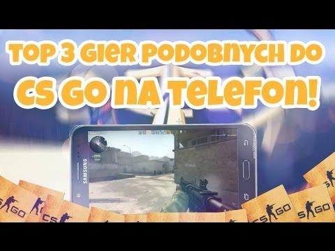 TOP 3 GIER PODOBNYCH DO CS:GO NA TELEFON!
