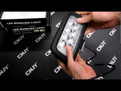 Feux de travail projecteur led exterieur ip67 auto quad for Eclairage exterieur 12v