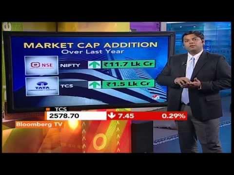 Market Pulse: TCS Crosses Rs.5 Lk Cr Market Cap