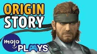 Origin Story: Solid Snake!