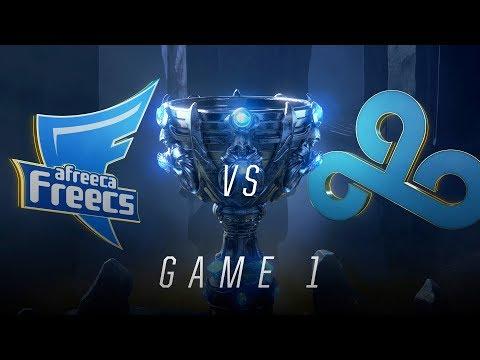 AFS vs C9 | Quarterfinal Game 1 | World Championship | Afreeca Freecs vs Cloud9 (2018)