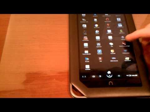 Rooted Nook Color Running Android