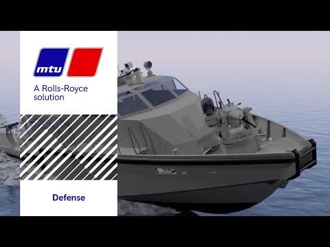 MTU Marine Defense Propulsion Solutions for North America
