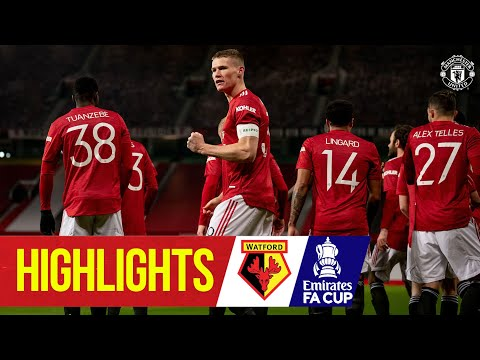 Captain Scott McTominay sends the Reds through! | 曼联 1-0 Watford | Emirates FA Cup