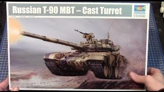 Trumpeter 1/35 T-90 Russian MBT (Cast Turret) # 05560 www.eModels.co.uk