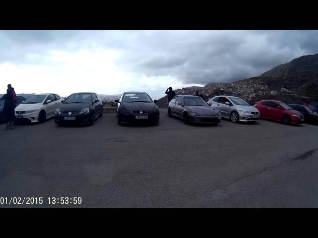 Honda redliners αραχωβα 2015