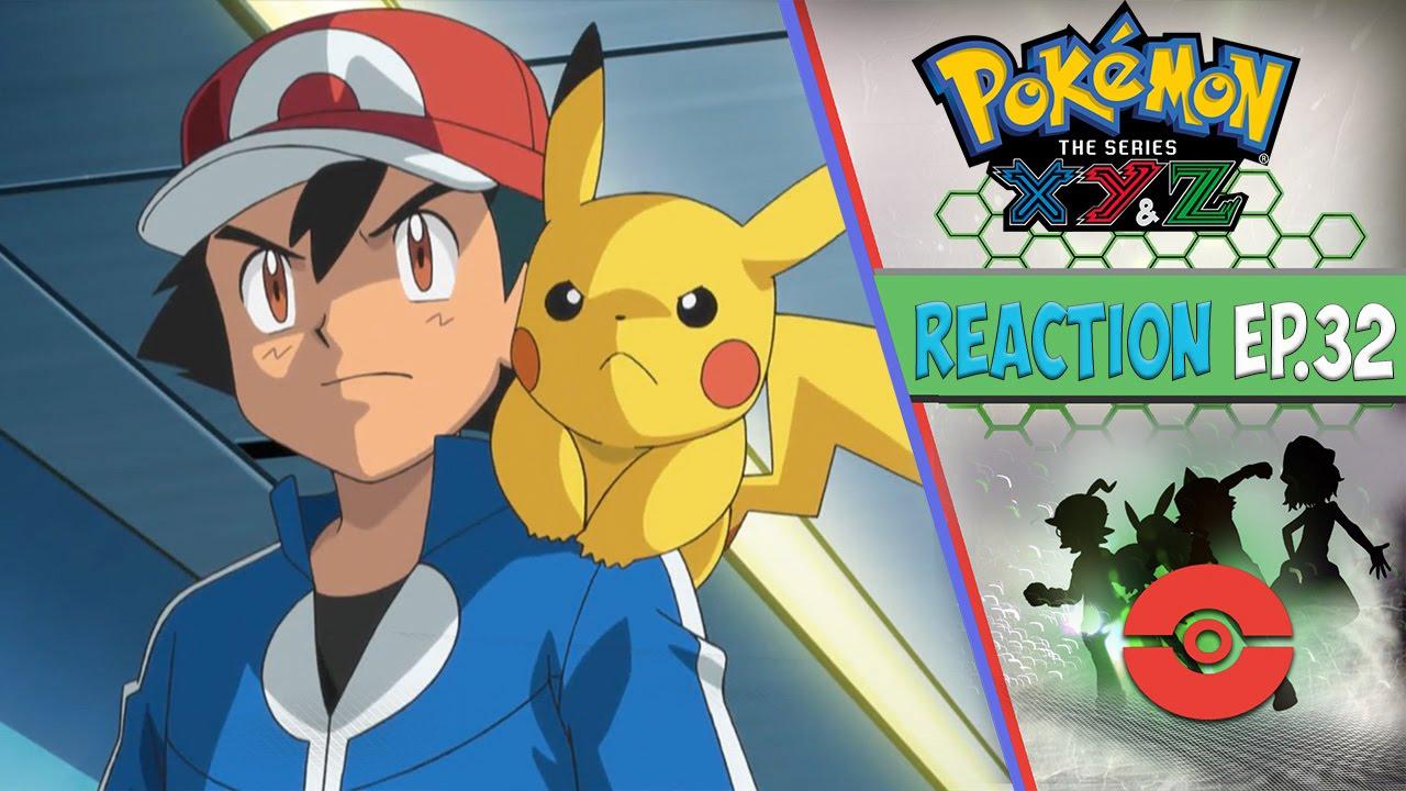 Pokemon Xyz Anime Reaction W Alpha Eevee Ep  The