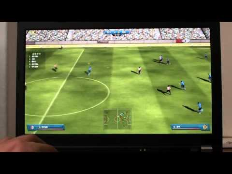 Thinkpad X220 Game test - FIFA Online 2