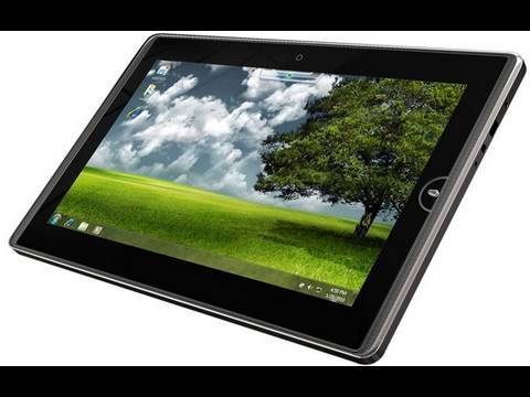 ASUS Eee Pad 121, 101TC and Eee Tablet First Look