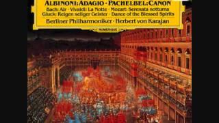 Pachelbel Cannon And Gigue In D Berlin Philharmonic Herbert Von Karajan