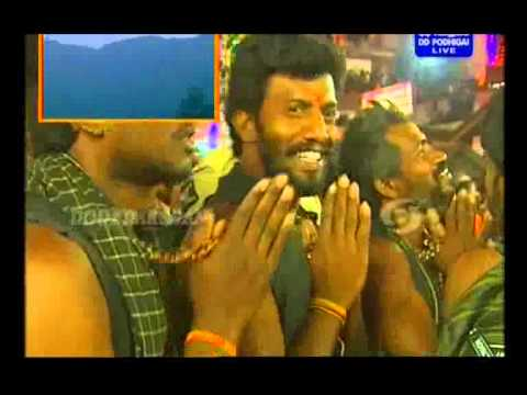 Mahara Jothi Live Video From Sabarimala 2014 video