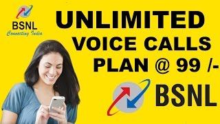 BSNL Free Unlimited Voice Calling