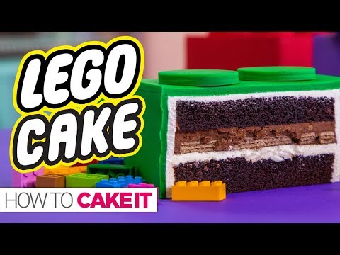 GIANT LEGO CAKE  Super Exciting Announcement!  How To Cake It